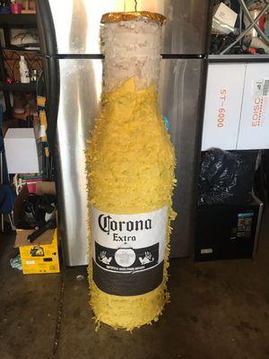 Tall bottle of Corona pinata for Sale in Pico Rivera, CA