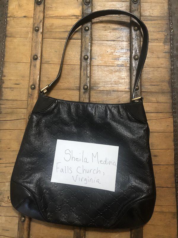Black Authentic Gucci Purse