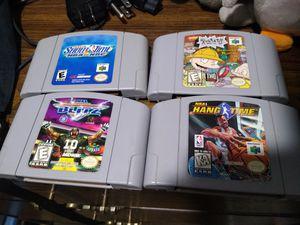 N64 Game bundle for Sale in Glendale, AZ