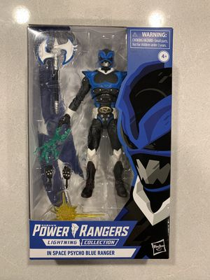 Psycho Blue Power Rangers In Space Lightning Collection *MINT* Action Figure Hasbro for Sale in Lewisville, TX