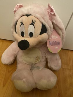 Disney Minnie Mouse Easter Bunny Collection Plushie for Sale in Lynnwood,  WA