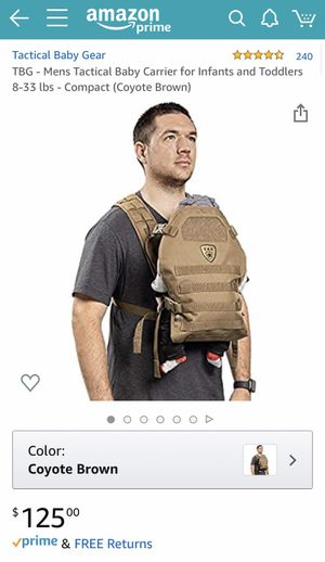 Tactical baby gear carrier for Sale in Round Rock, TX