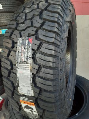 NEW TIRES 35X12.50R20 YOKOHAMA GEOLANDER AT 10-PLY for Sale in Garland, TX