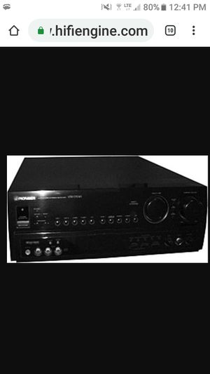 Pioneer receiver 5 channel for Sale in Nogales, AZ