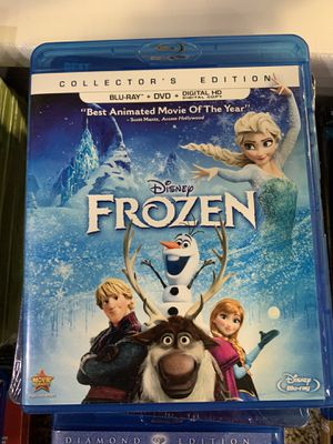 Disney Blu-Ray + DVD Combo Packs (no digital code) for Sale in Selma, TX