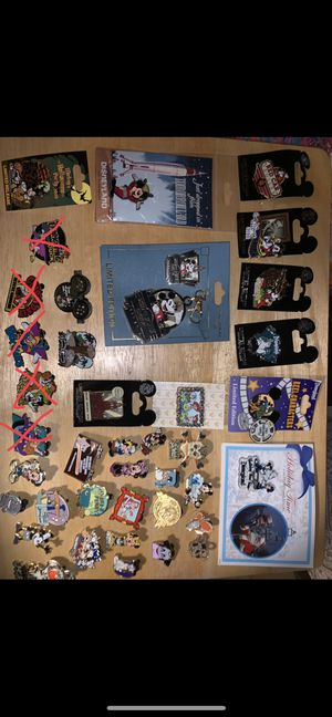 Disney pins! Rare finds! for Sale in Henderson, NV