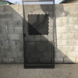Sliding Screen Door W/ Dog Protector for Sale in West Covina, CA