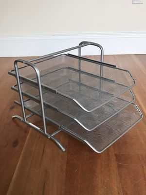 desk paper rack for Sale in Cambridge, MA