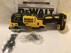 Brand new never used Dewalt XR 20V brushless 3 speed multitool. Tool only for Sale in Vacaville, CA