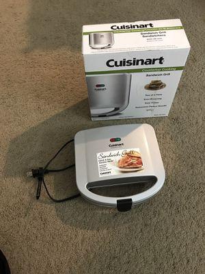 Cuisinart sandwich grill for Sale in Seffner, FL