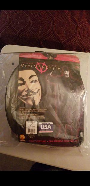 V for Vendetta Halloween costume for Sale in Pomona, CA
