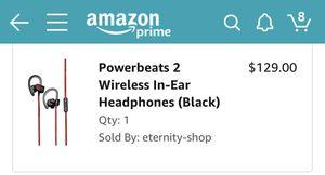 Beats Powerbeats 2 headphones for Sale in Coraopolis, PA