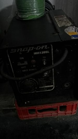 Snap on welder mig or Tig or arc. for Sale in Murray, UT