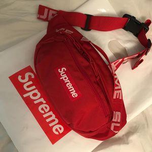 Hypestuff Cordura supreme shoulder bag fanny pack waist bag messenger bag SS18 New for Sale in New York, NY