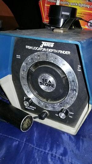 Jetco Fish Locator/Depth Finder for Sale in Wildomar, CA