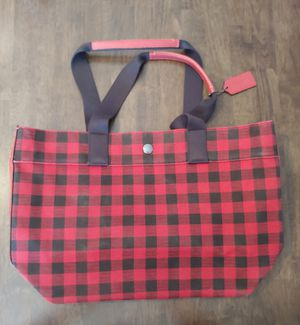 BRAND NEW, COACH GINGHAM TOTE for Sale in Phoenix, AZ