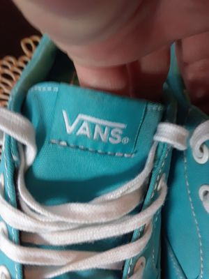 Vans size 9 womans. Worn 15 minutes so they are NEW for Sale in Riverside, CA