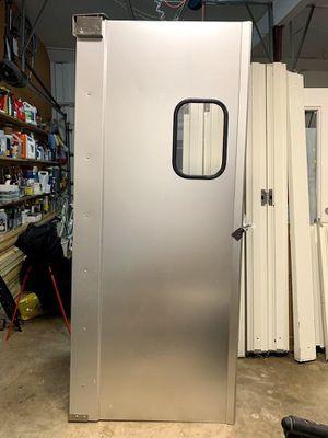 Swinging industrial kitchen door with window for Sale in Raleigh, NC