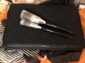 Makeup organizer Sephora, 2 sephora makeup brushes for Sale in Las Vegas, NV