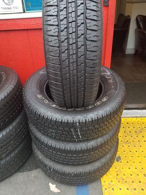 Set of Michelin 275/65/18 for Sale in Santa Fe Springs, CA