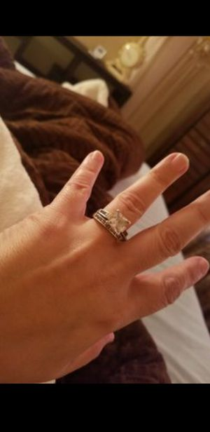 Sterling silver wedding ring size 7 for Sale in Springfield, MA