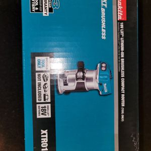 Makita 18v LXT Brushless Compact Router for Sale in Las Cruces, NM