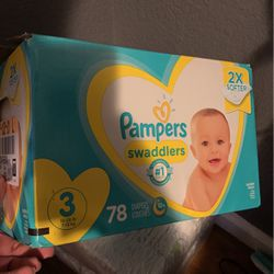 Size 3 Pampers Swaddlers Diapers for Sale in San Jose,  CA