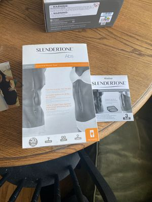Slendertone Ab belt Ab machine -New for Sale in Fullerton, CA