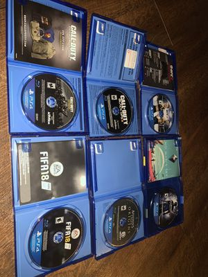 PS4 games new all in perfect conditions for Sale in Nashville, TN