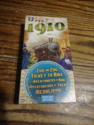 Ticket to Ride board game 1910 USA expansion for Sale in Chicago, IL