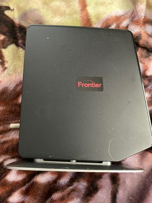 Frontier WiFi router own outright and not pay monthly for your router. Paid over 250.00 only thing missing is dc cord 12 v very easy to get. for Sale in Port Richey, FL