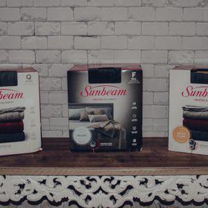 Sunbeam Electric Heated Blanket for Sale in Deer Park, TX