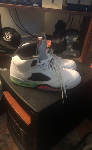 Jordan space jam 5's size 13 worn twice $125 for Sale in Baltimore, MD