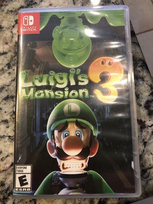 Luigi's Haunted Mansion 3 for Sale in Chandler, AZ