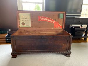 Cedar Chest - antique 1938 - West Branch Novelty Co. for Sale in Easton, CT