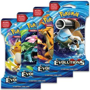 Pokemon Evolutions Blister Booster Packs for Sale in Red Bluff, CA