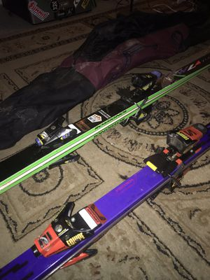 A pair of skis with boot for Sale in Blacklick, OH