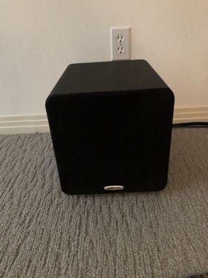 """Polk Audio PSW111 Compact Powered 8"""" Subwoofer x 2 for Sale in Austin, TX"""