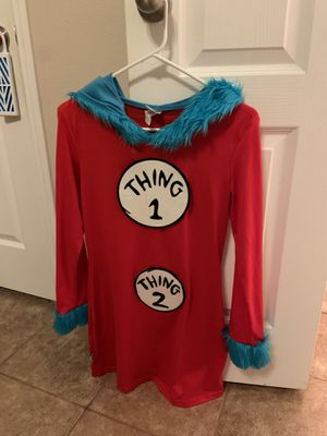 Halloween Costume-thing 1, thing 2 for Sale in Round Rock, TX