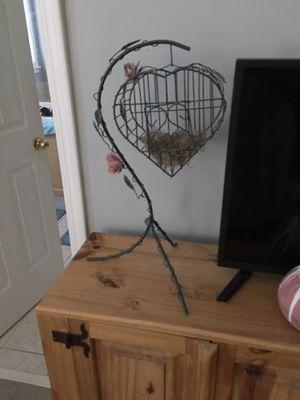 Wrought iron Bird cage decorative for Sale in Cumming, GA