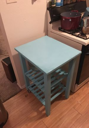 Teal Kitchen Island for Sale in Austin, TX