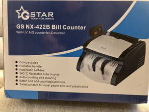 G-Star Bill Counter (GS NX 422B) New for Sale in Montgomery, OH