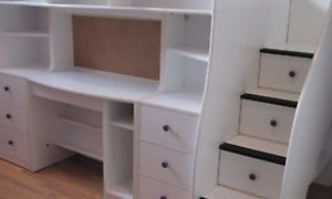 Used Berg Loft Bed Storage and Hidden Play area for Sale in Fairfax, VA
