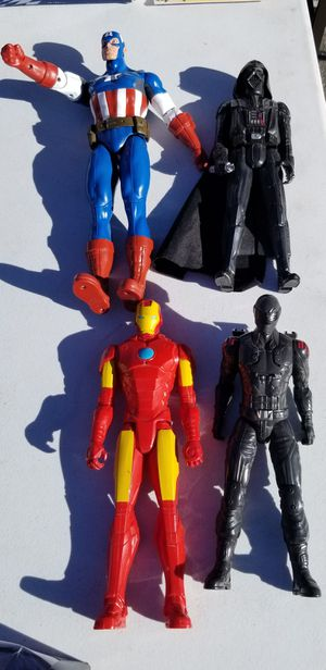 Set of 4 auction figures for Sale in Las Vegas, NV