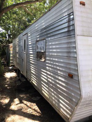 30 ft camper trailer rebuilt but not finished no tittle for Sale in Pensacola, FL