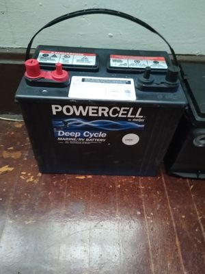 Powercell deep cycle marine/ RV battery for Sale in Oaklandon, IN
