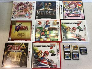 Nintendo 3DS games lot for Sale in Charlevoix, MI