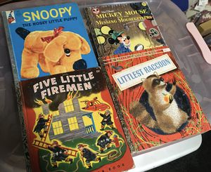 Vintage Little Golden Books for Sale in Valley Home, CA