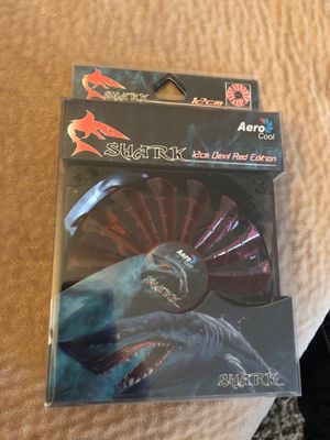 Aero cool shark 12cm devil red edition for Sale in Gooding, ID