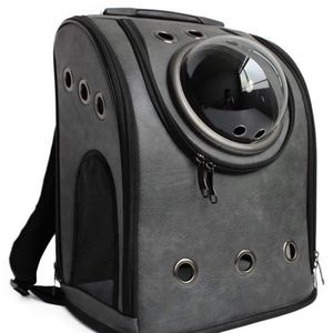 Pet Carrier Backpack, Space Capsule Dog Cat Small Animals Travel Bag - Dark Greyi for Sale in Washington, DC